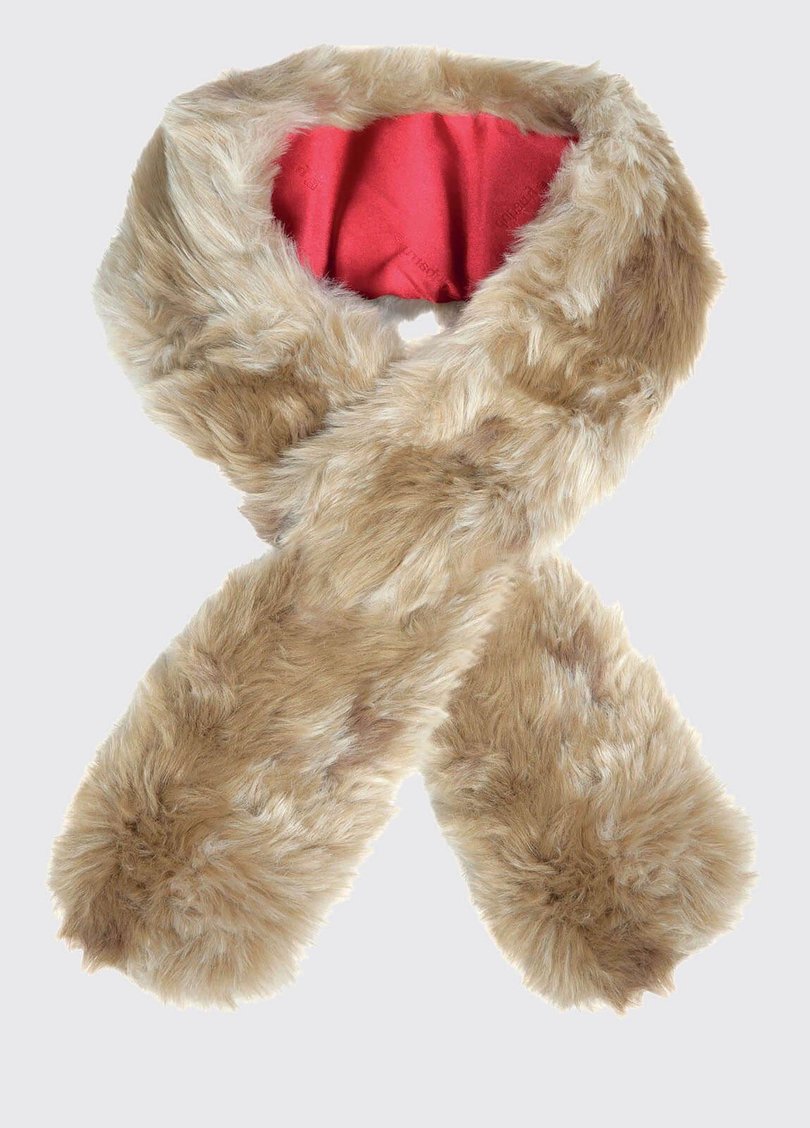 Faux Fur Scarf - Lynx