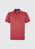 Elphin Polo Shirt - Ruby Red