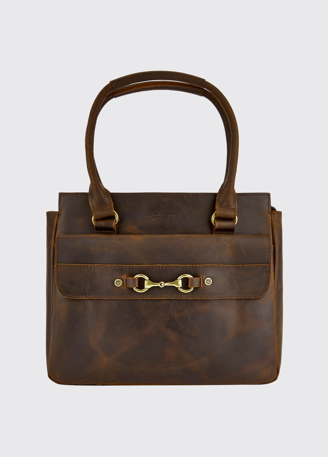 Slane Saddle Bag - Mahogany