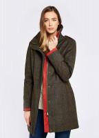 Hedgerow Tweed Coat - Hemlock