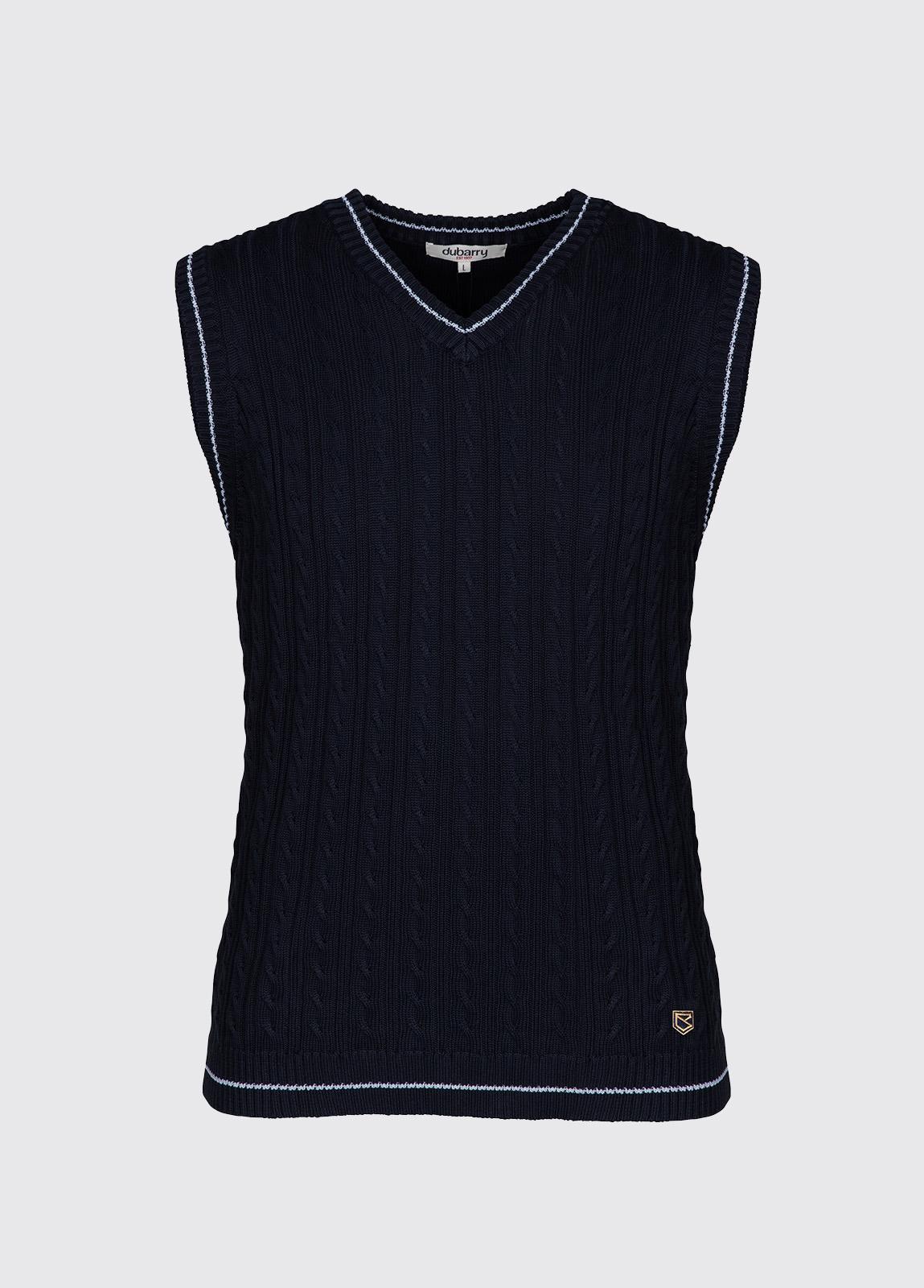 Cahir sleeveless sweater - Navy