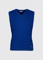 Cahir sleeveless sweater - Cobalt