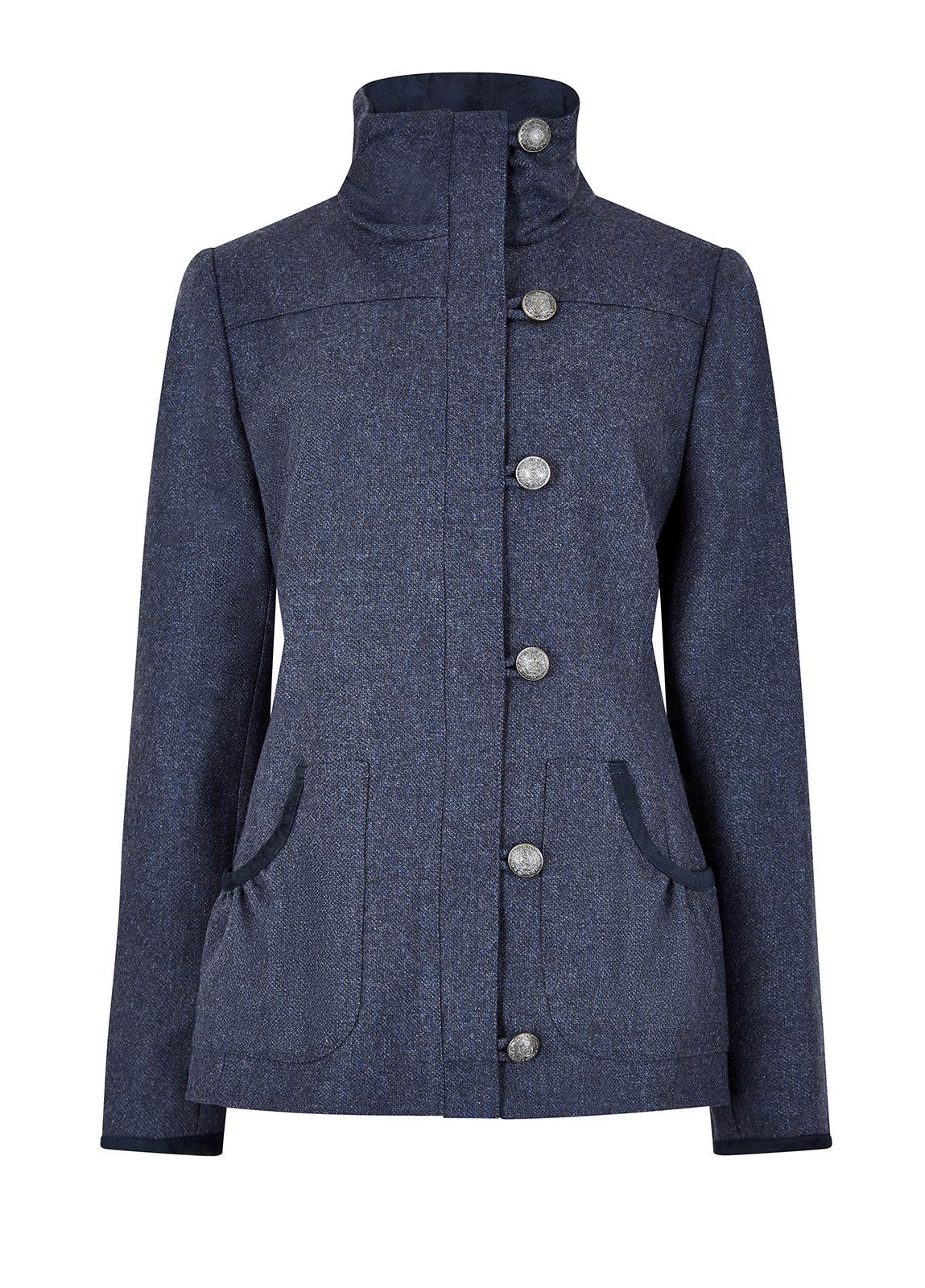 Dubarry_Bracken Tweed Coat - Denim_Image_2