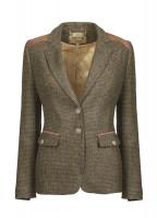 Pearlwort Tweed Blazer - Heath