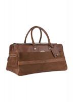Durrow Leather Weekend Bag - Walnut