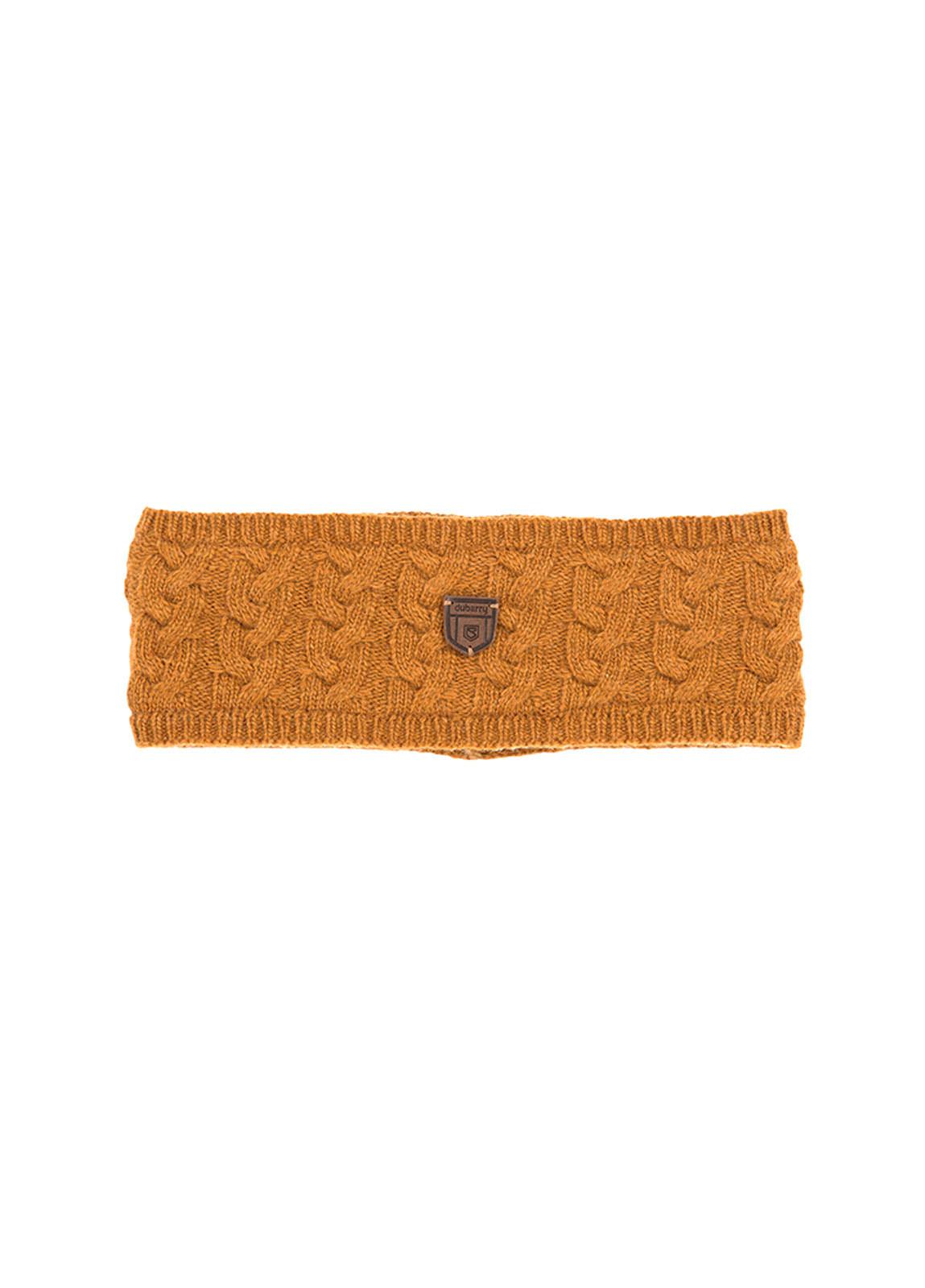 Dubarry_ Farmleigh Knitted Headband - Mustard_Image_1