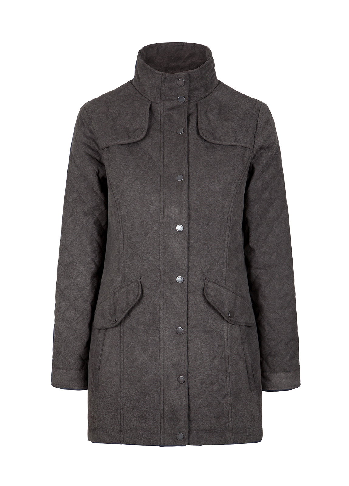 Dubarry_Kanturk Womens Quilted Coat - Graphite_Image_2