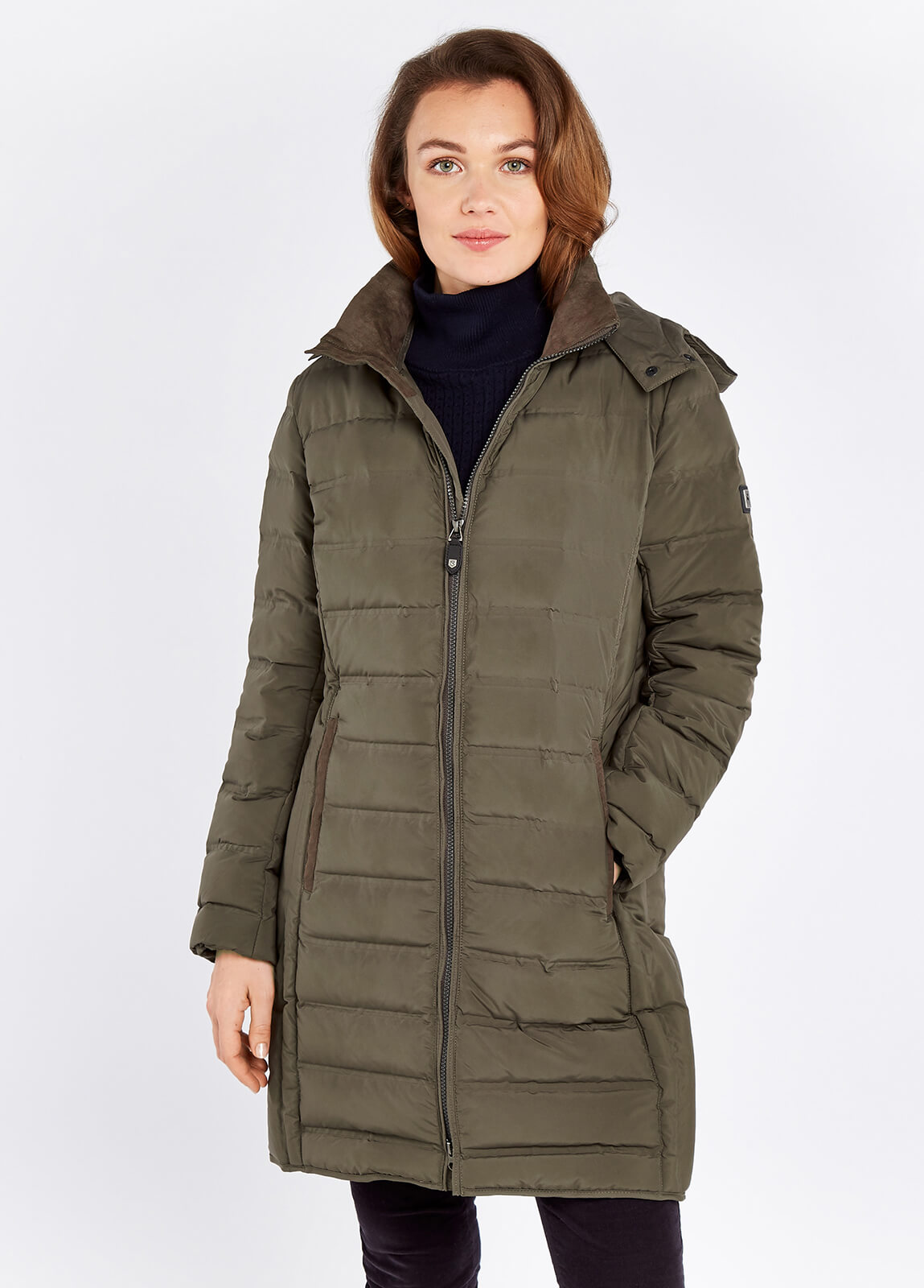Ballybrophy Quilted Jacket - Smoke