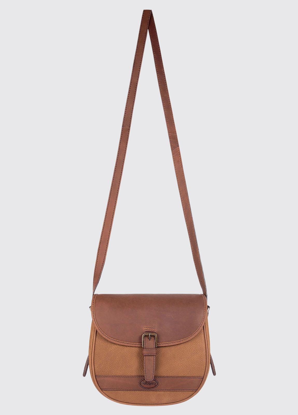 Clara Leather Saddle bag - Brown