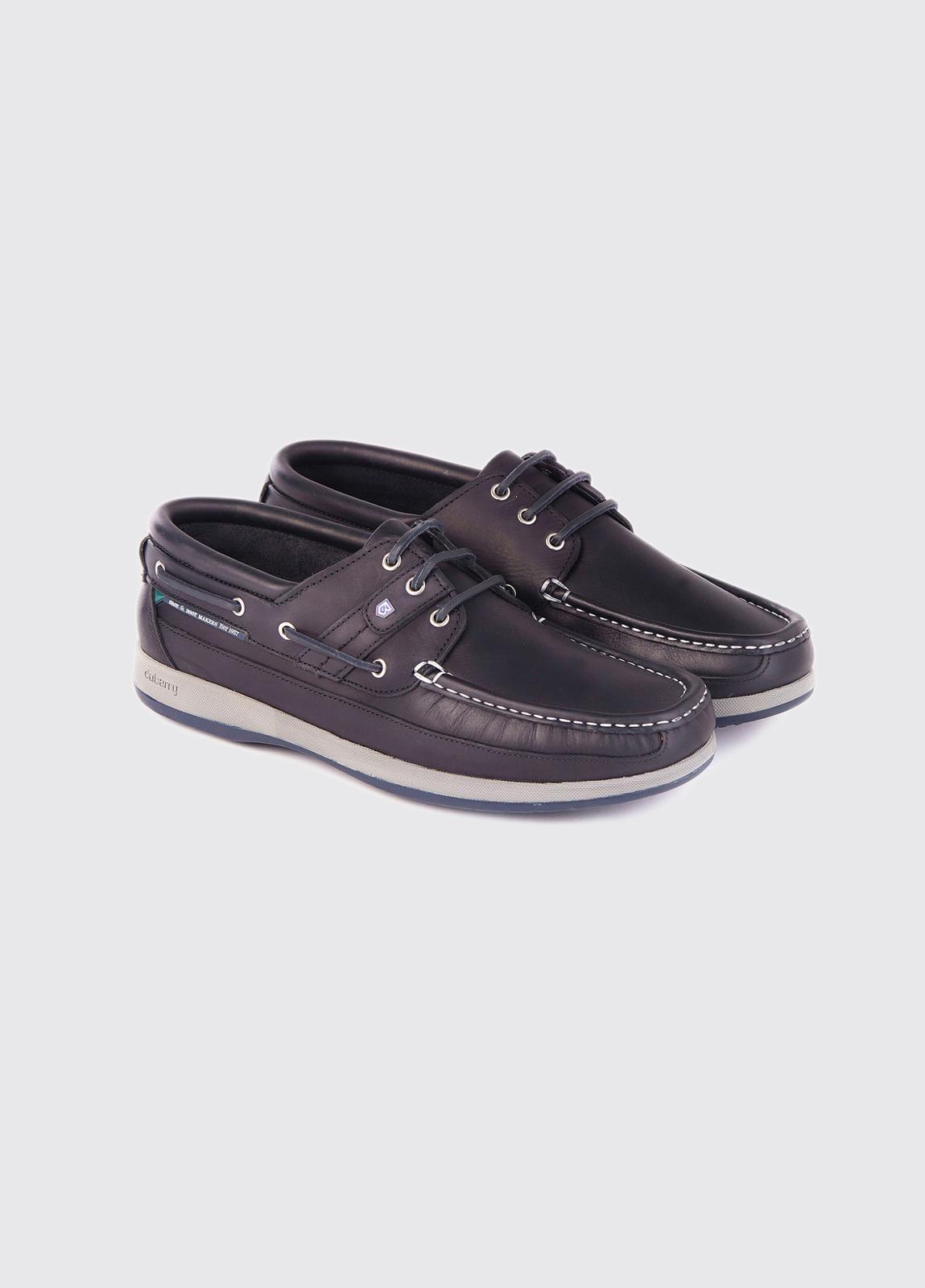 Atlantic Deck Shoe - Navy