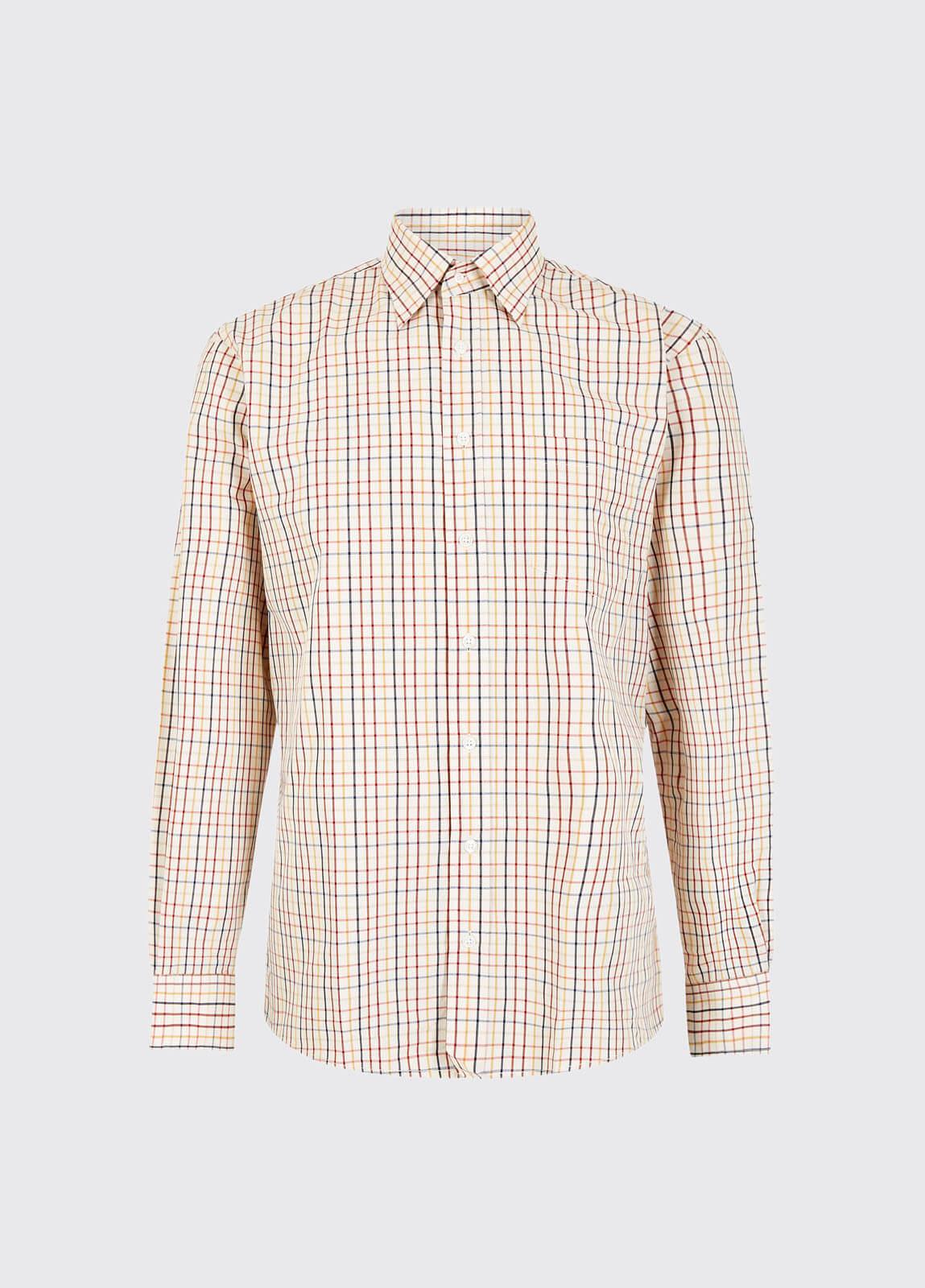 Baylin Shirt - Merlot Multi