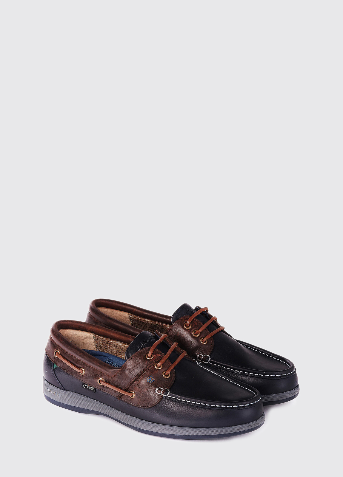 Mariner Moccasin - Navy/Brown