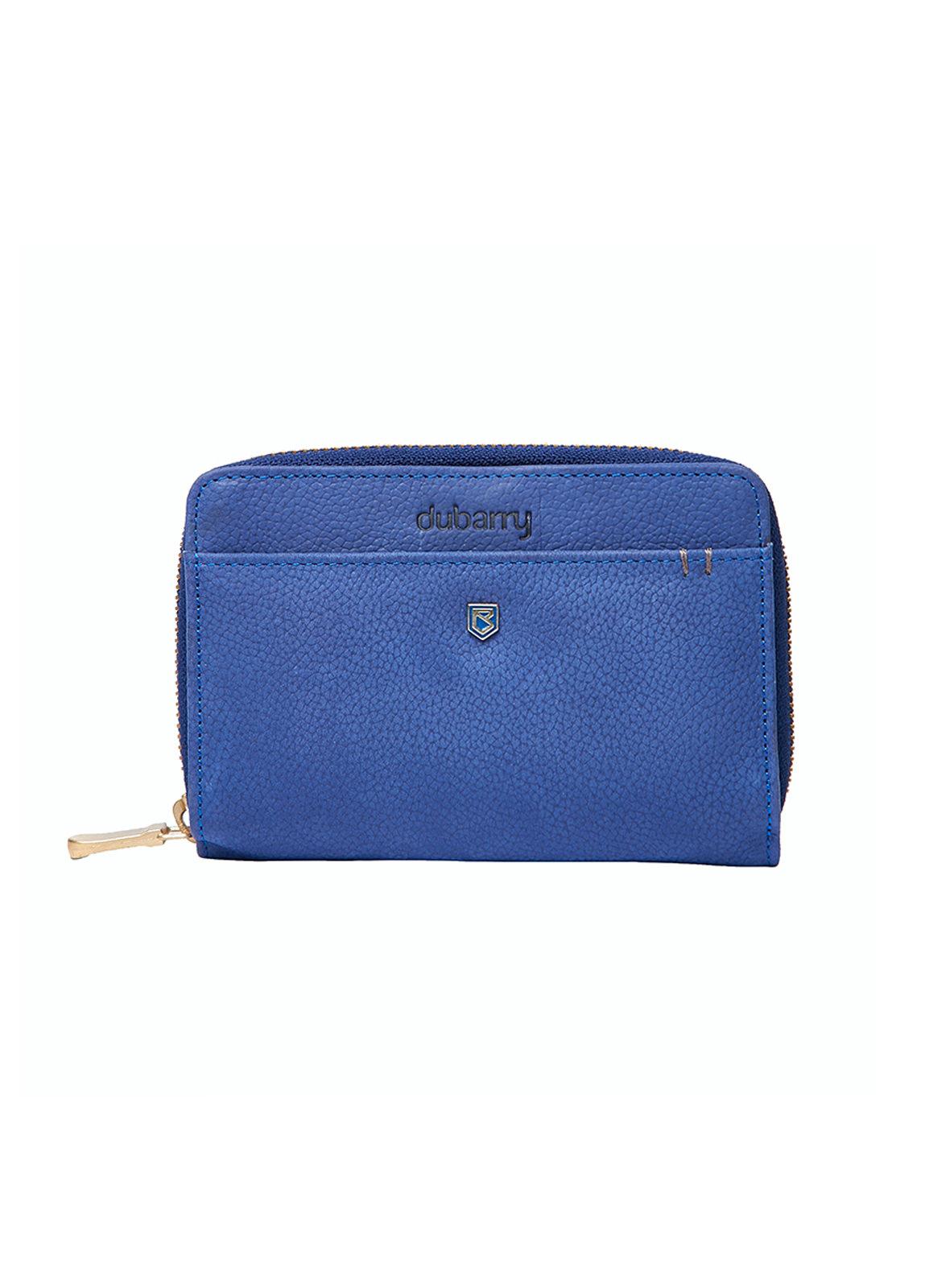 Portrush Leather  Wallet - Cobalt