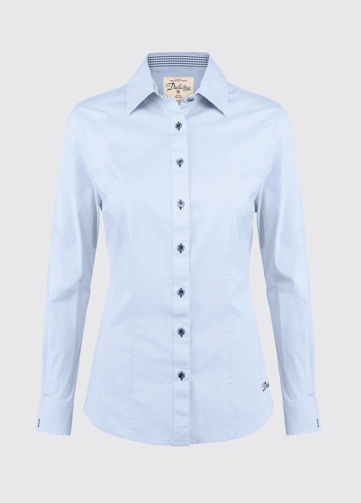 Carnation Womens Shirt - Blue