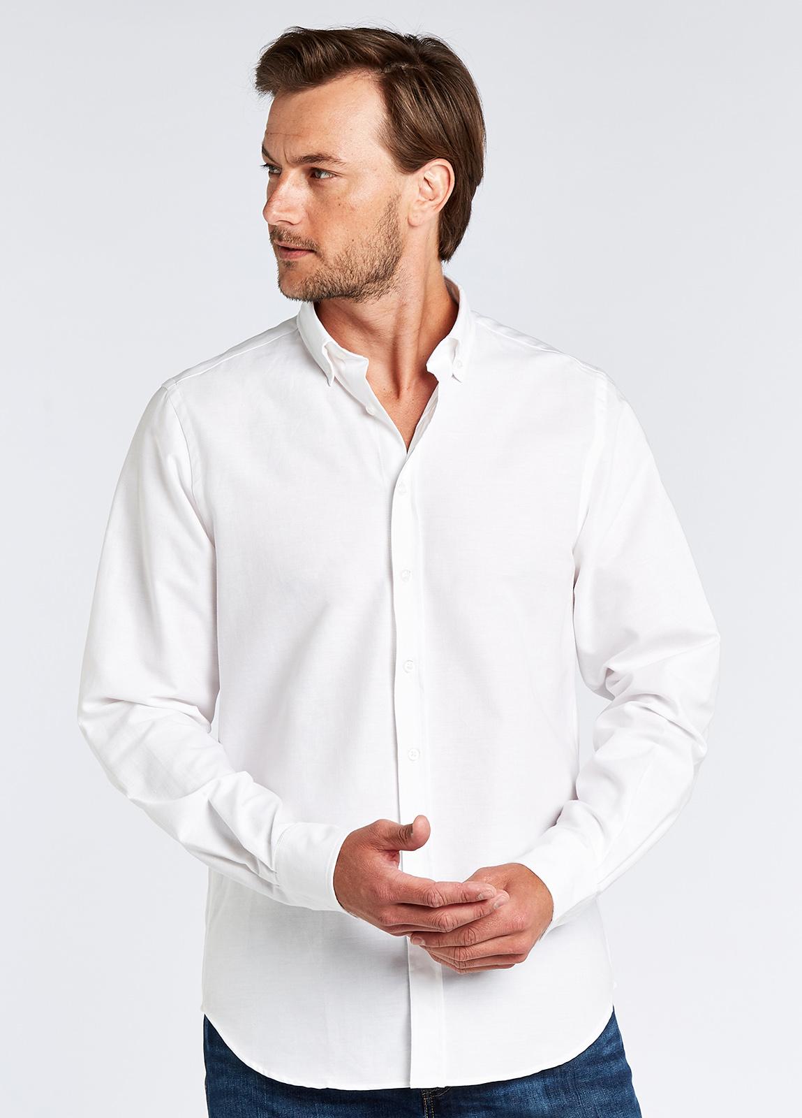 Castlecove Oxford Shirt - White