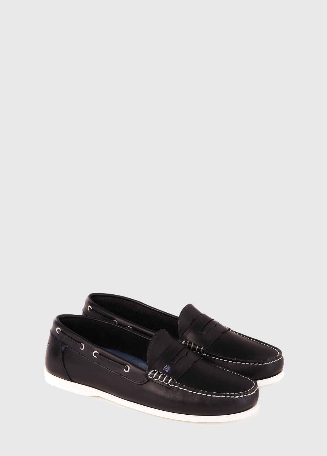 Spinnaker Moccasin - Navy