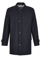 Kingham Tweed Coat - Midnight