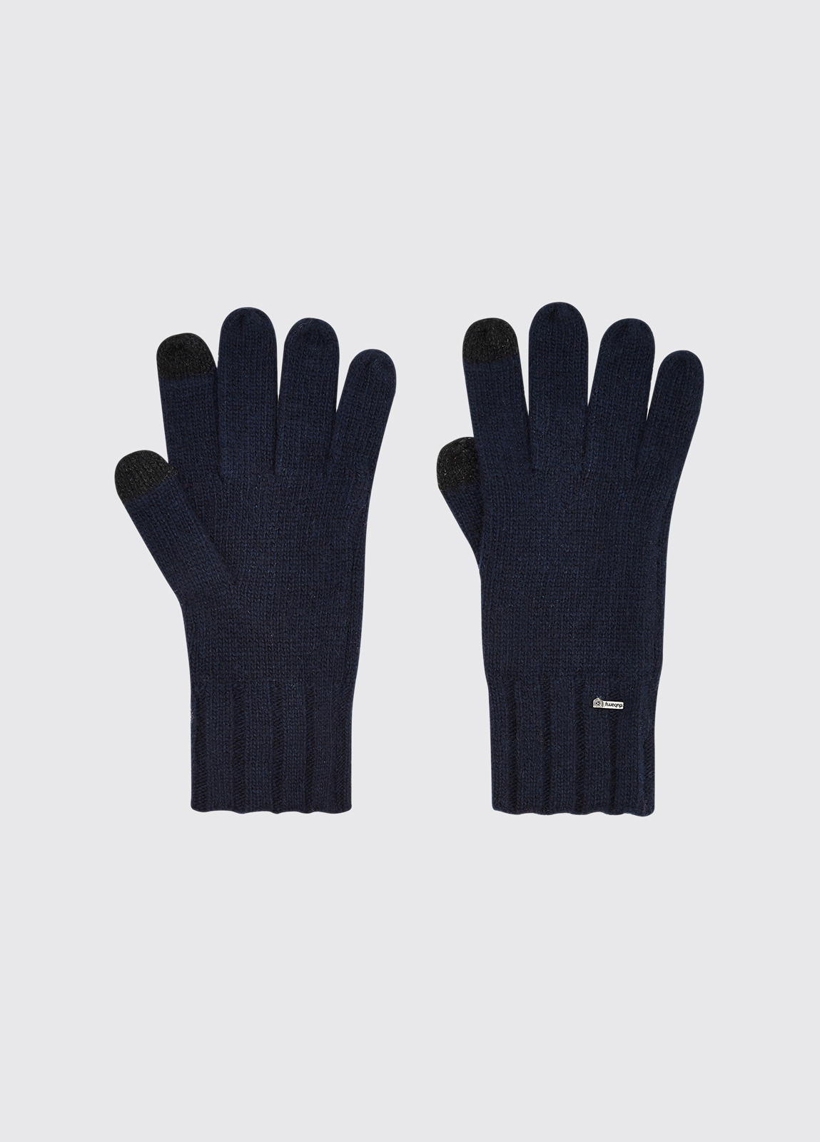Hayes Knitted Gloves - Navy