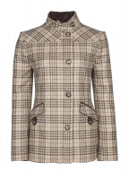 Heatherbell Tweed Jacket - Pebble