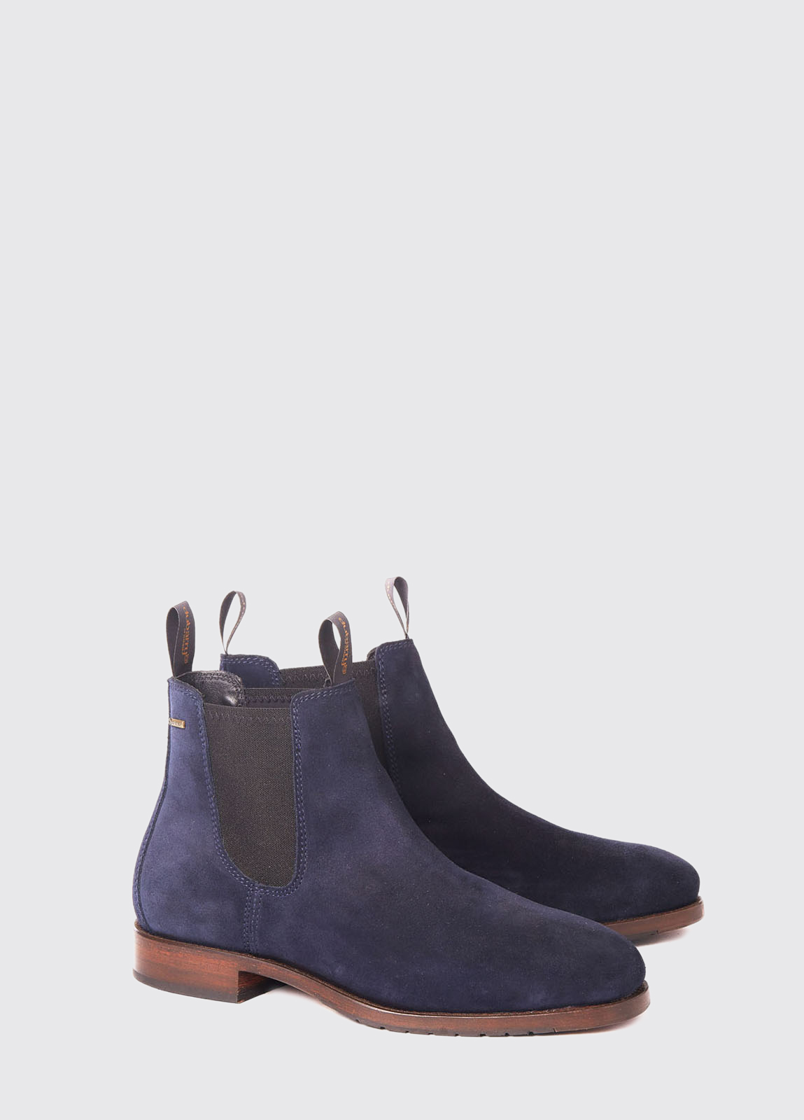 Kerry Leather Soled Boot - French Navy