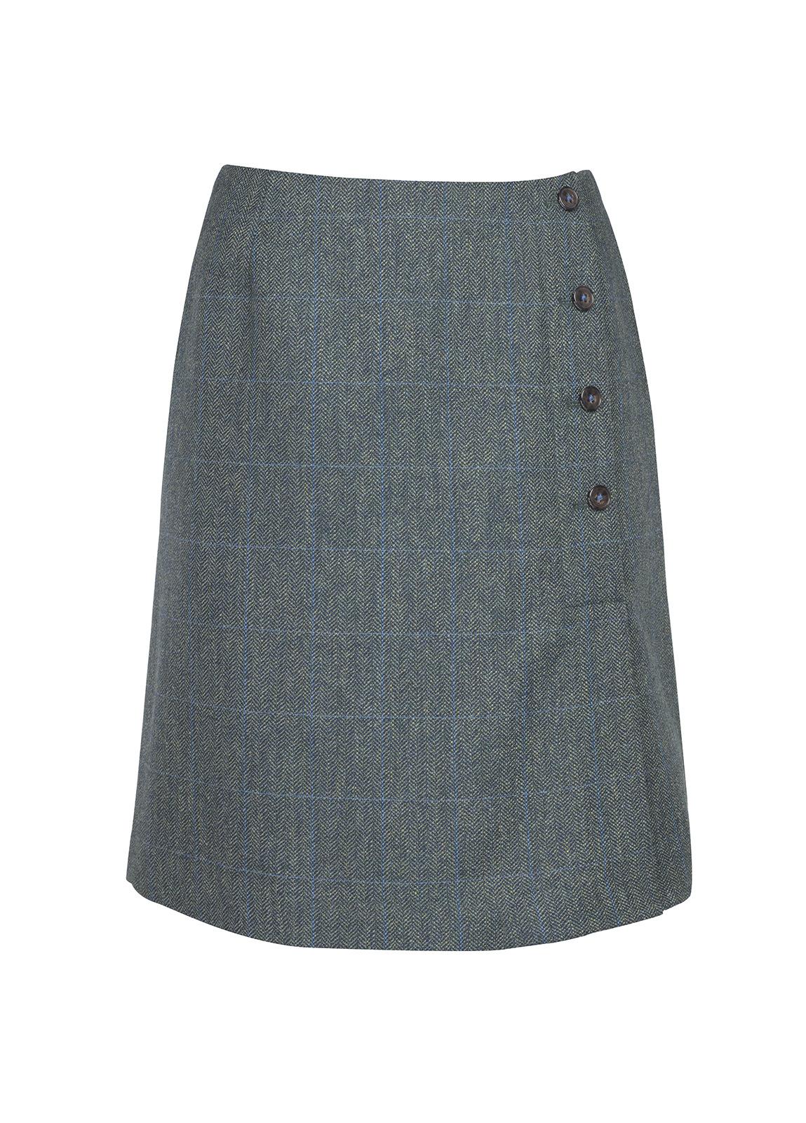 Dubarry_ Marjoram Slim Tweed Skirt - Mist_Image_2