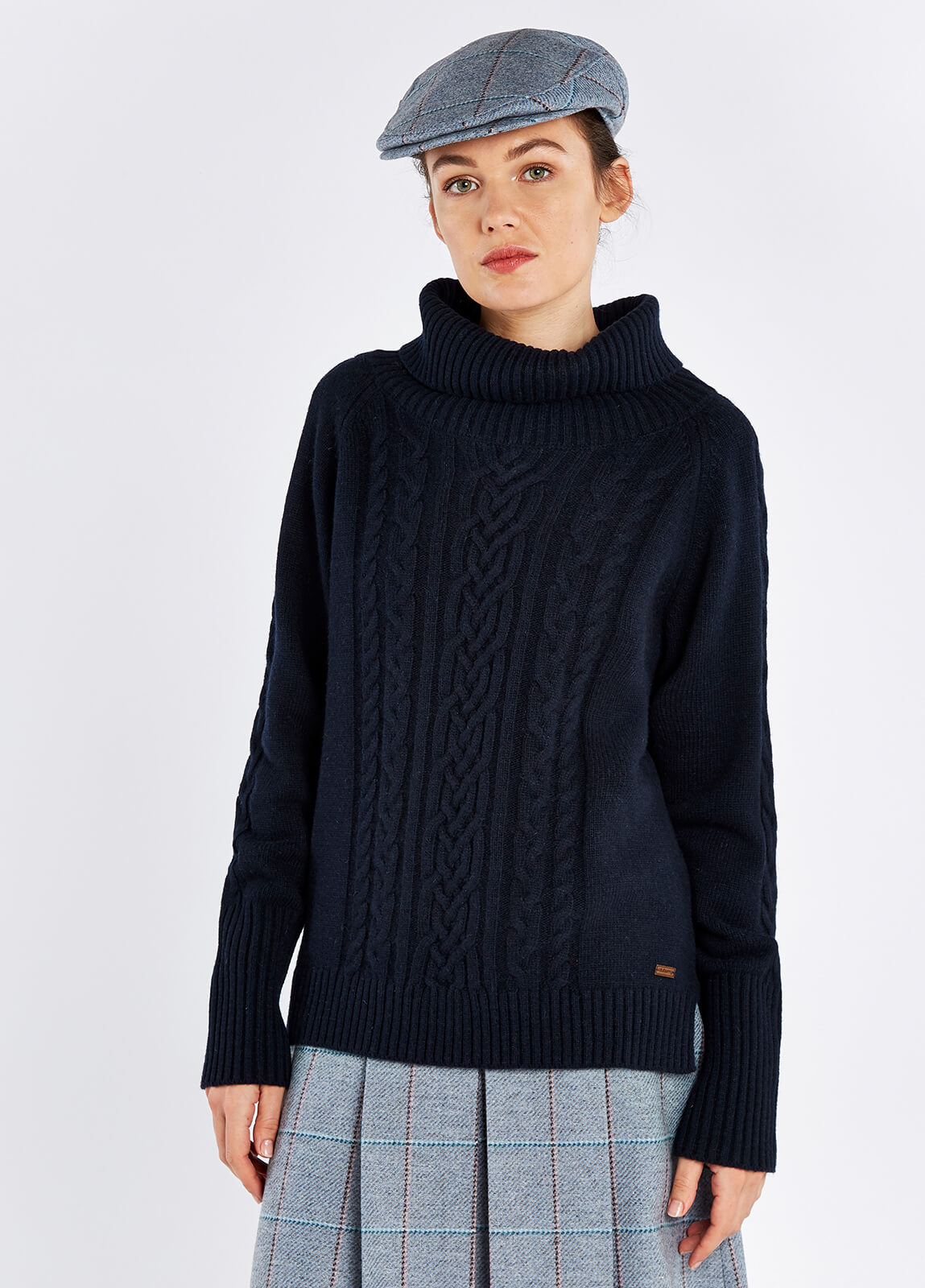 Kennedy Knitted Sweater - Navy
