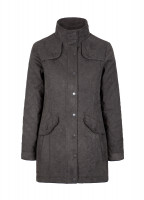 Kanturk Womens Quilted Coat - Graphite