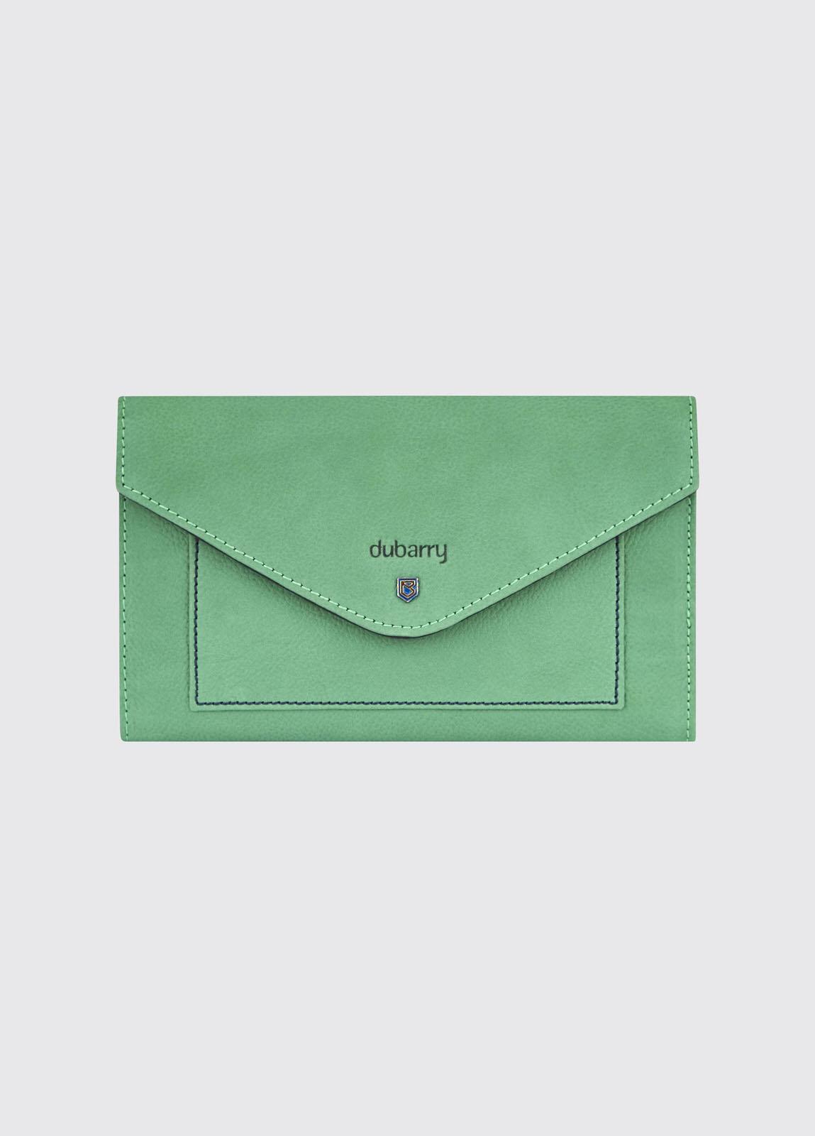 Athlone Wallet - Kelly Green