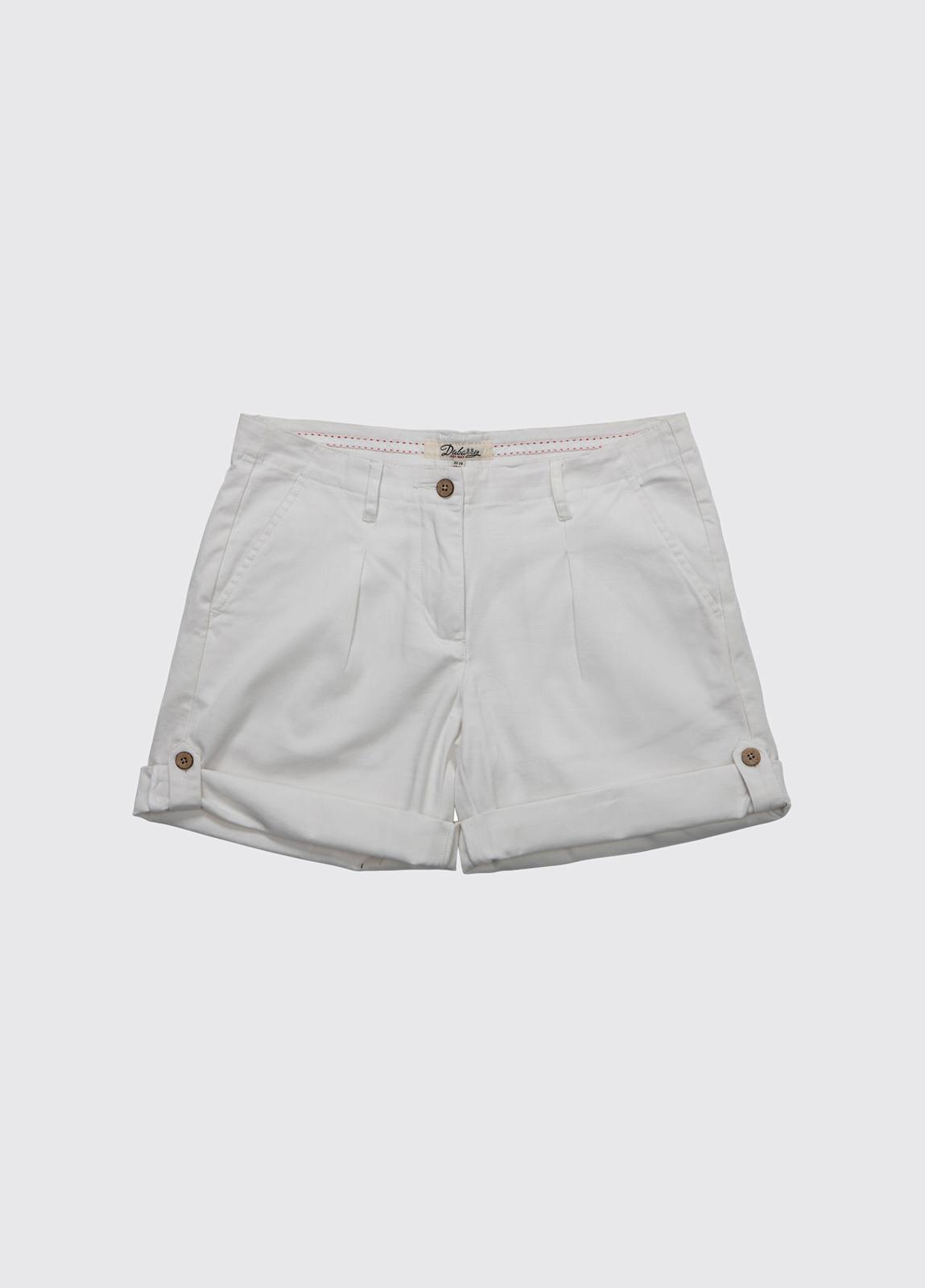 Summerhill ladies shorts - White