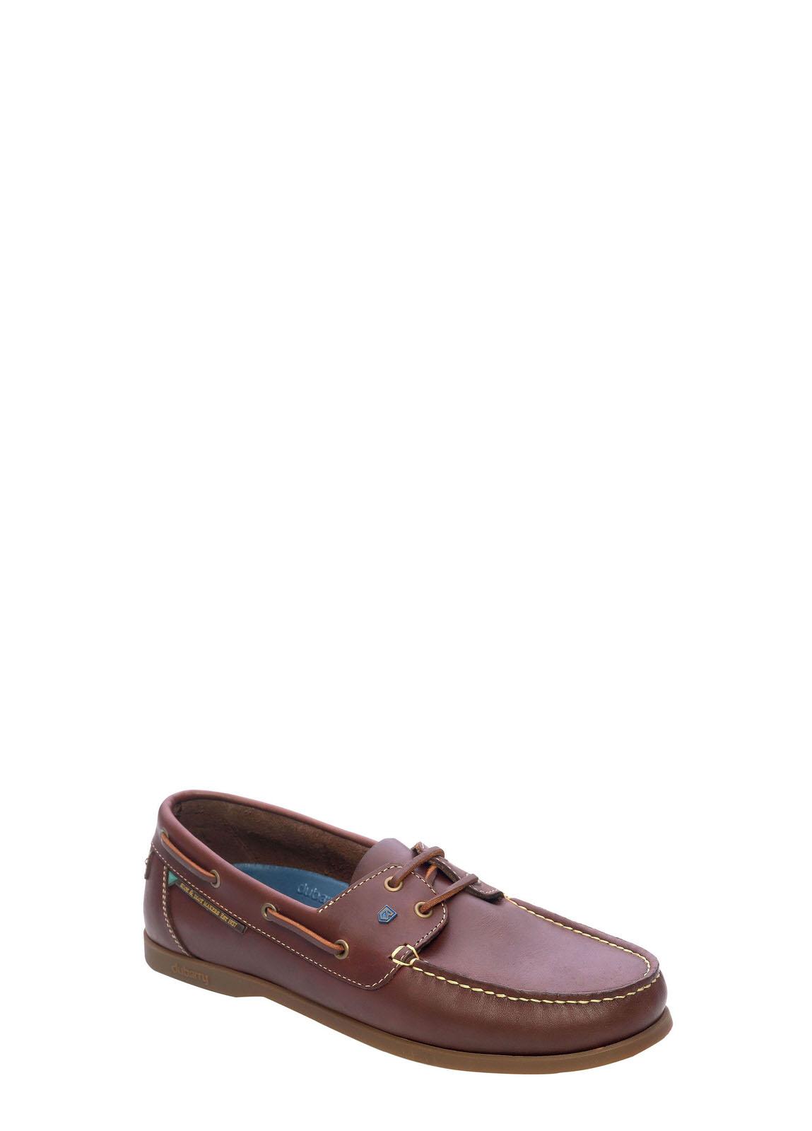 Dubarry_ Windward Mens Deck Shoe - Chestnut_Image_1