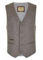 Ballyshannon Tweed Waistcoat - Elk