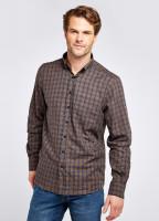 Richmond Check Shirt - Navy