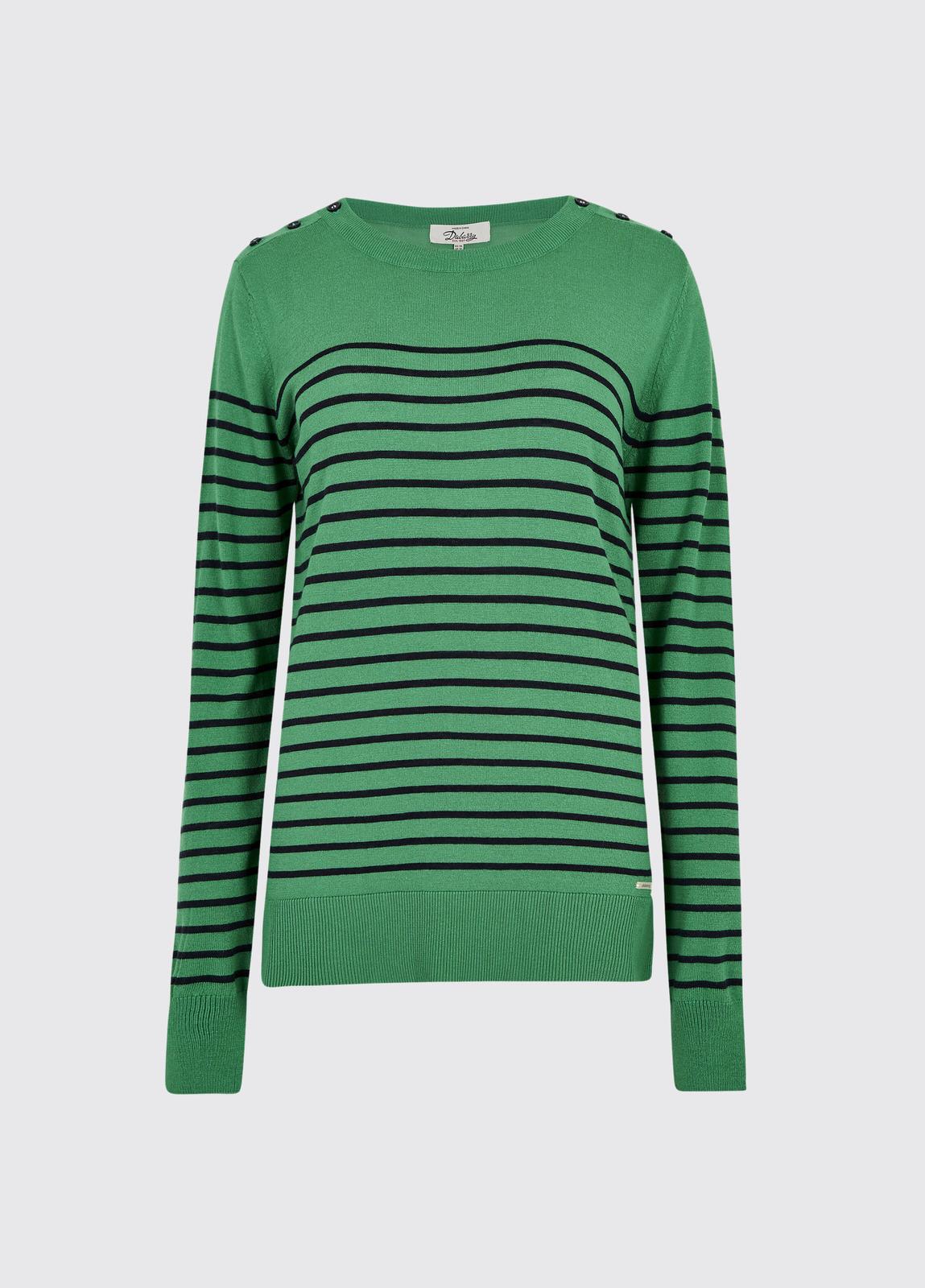 Portlaw lightweight Sweater - Kelly Green