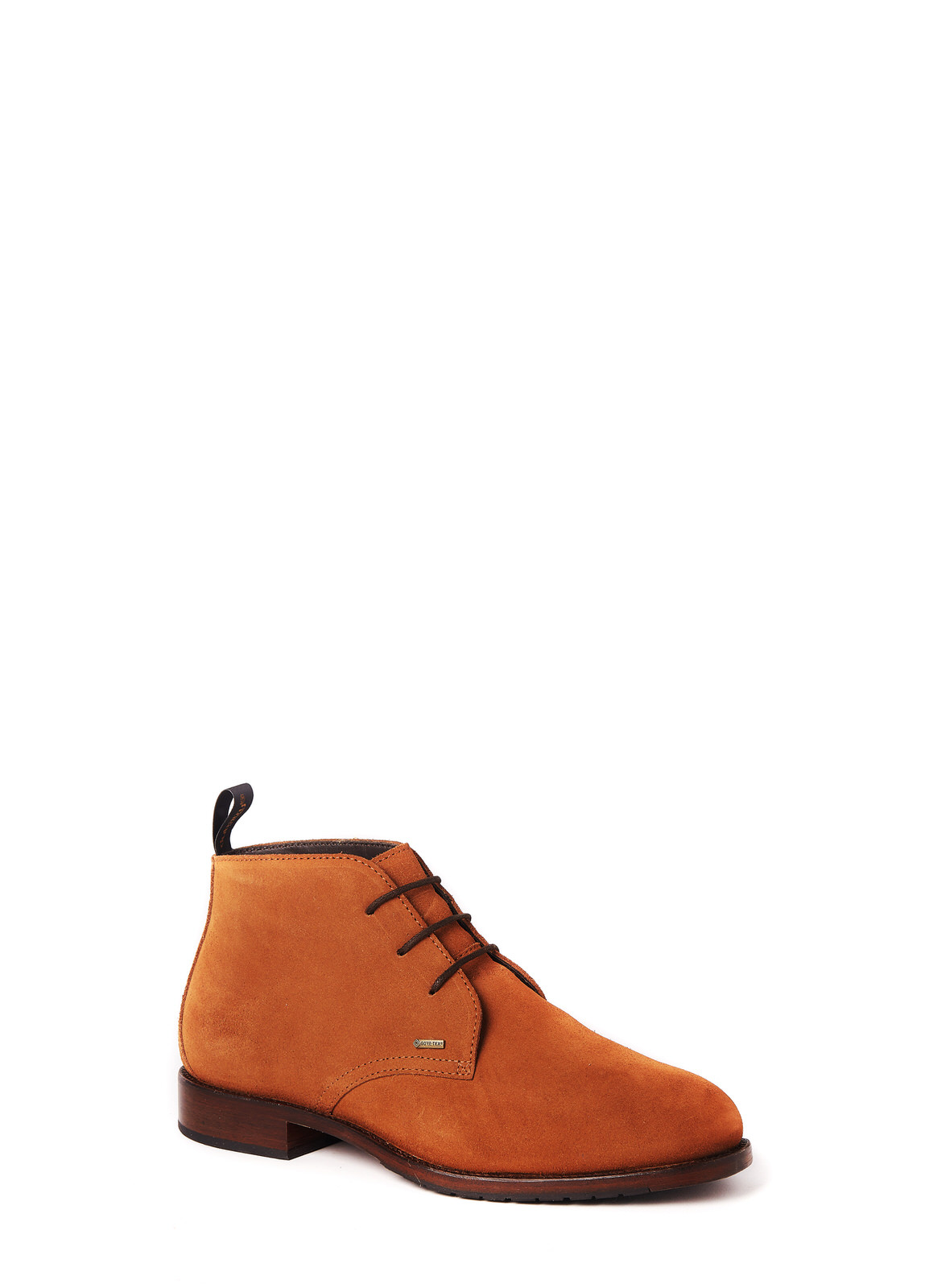 Dubarry_Waterville Mid Top Leather Boot - Camel_Image_1
