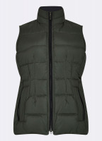 Spiddal Quilted Gilet - Spruce