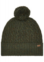 Schull Knitted Hat - Olive