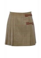 Blossom Tweed Skirt - Acorn