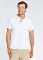 Menton Men's Technical Polo - White