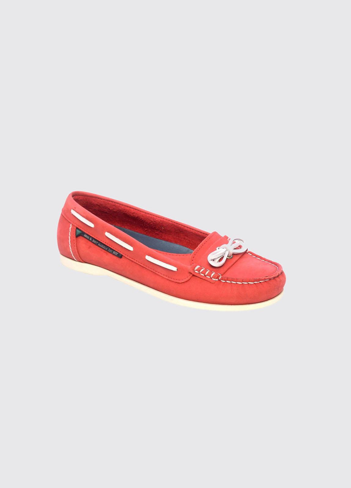 Fiji Women's Moccasins - Red