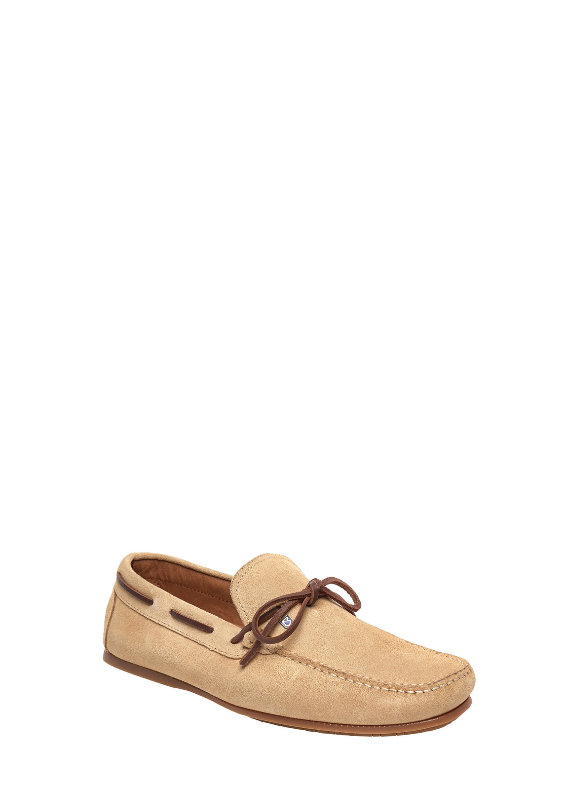 Dubarry_ Corsica Mens Deck Shoe - Beige_Image_1