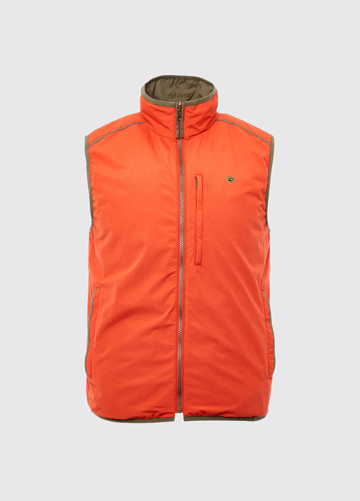 Killashee Reversible Lightweight Gilet - Saffron