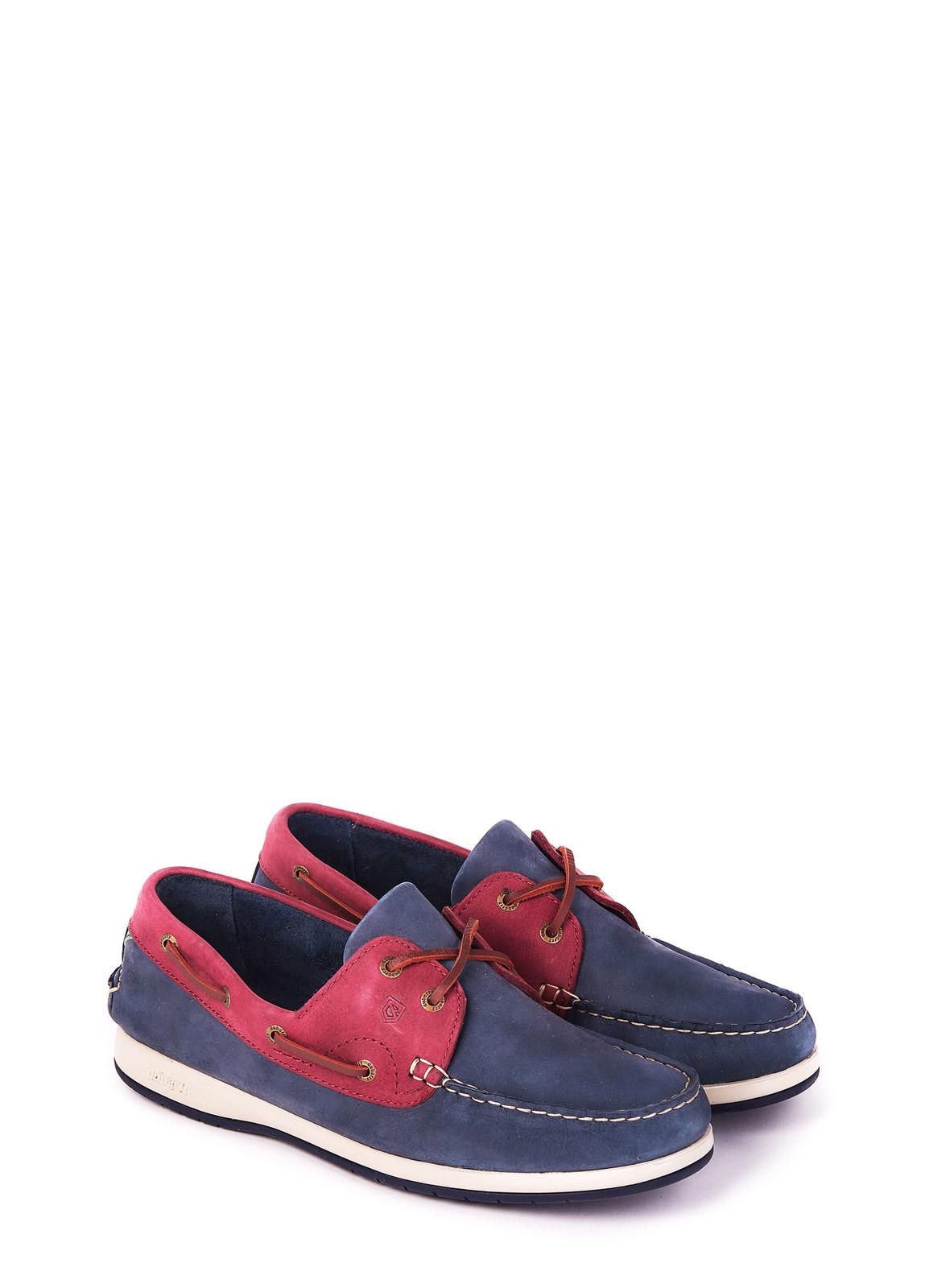 Dubarry_Pacific X LT Deck Shoe - Navy/Bordo_Image_1