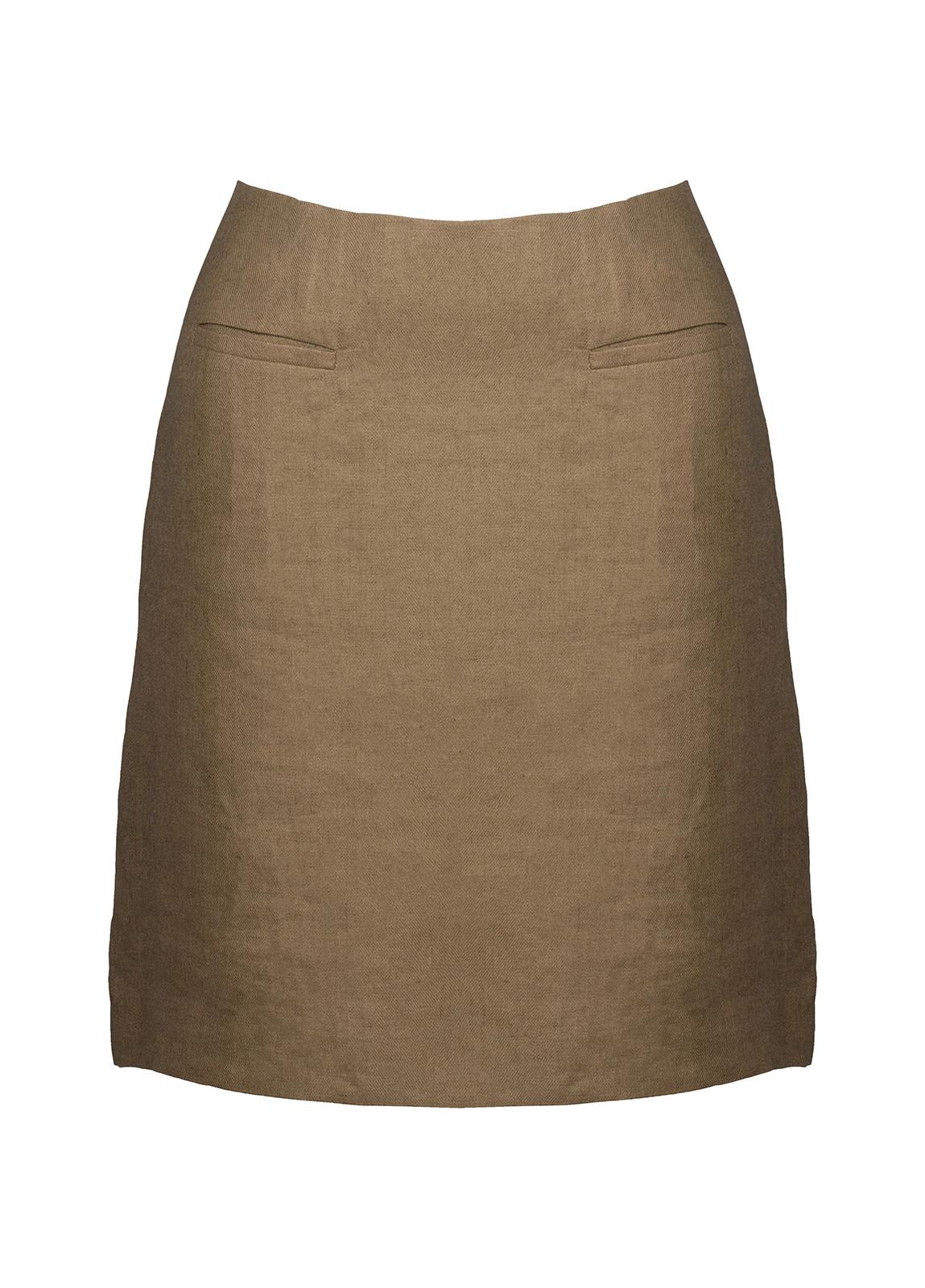 Dubarry_ Sunflower Linen Ladies Skirt - Ruby Red_Image_2