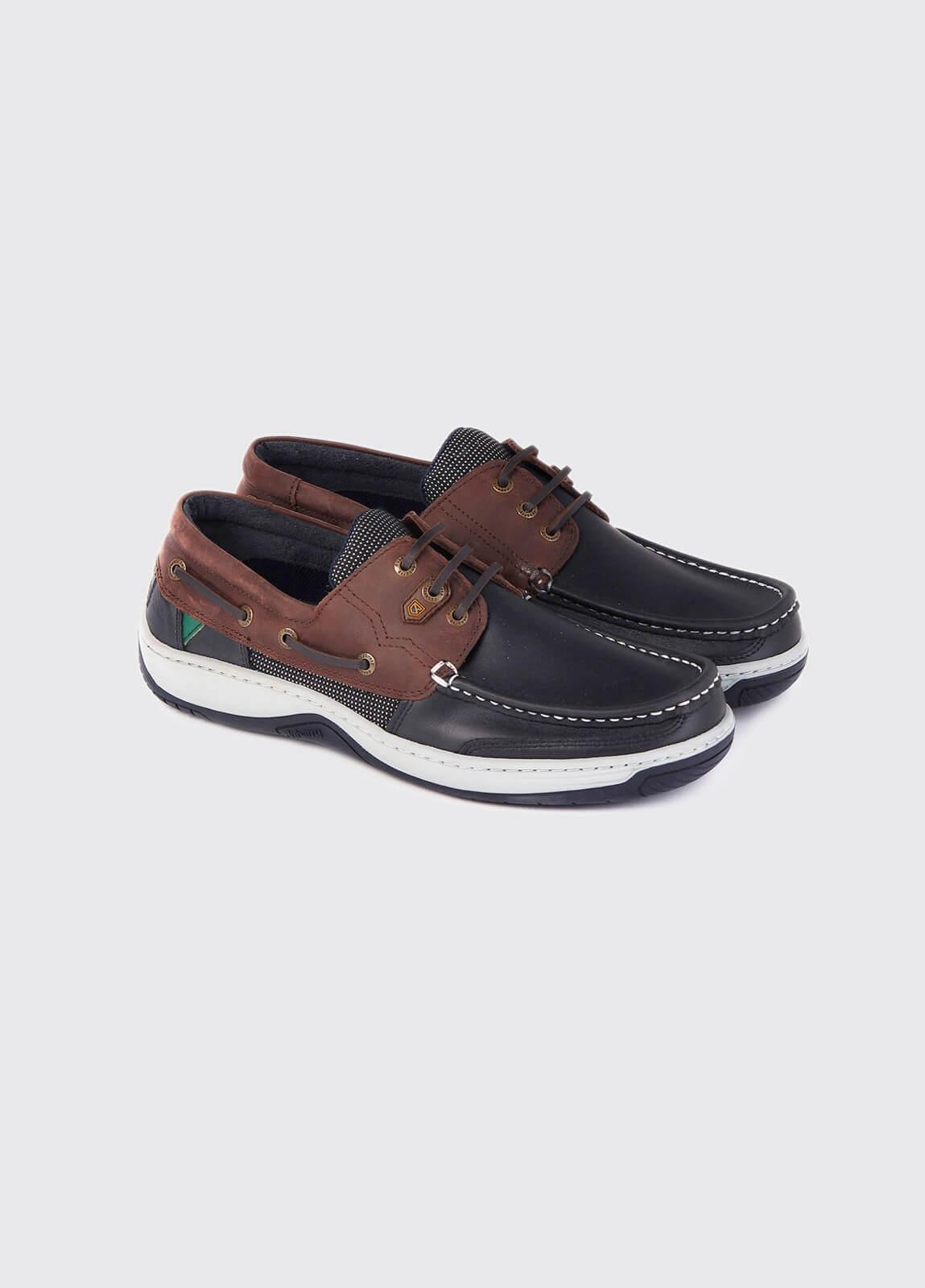 Regatta Deck Shoe - Navy/Brown