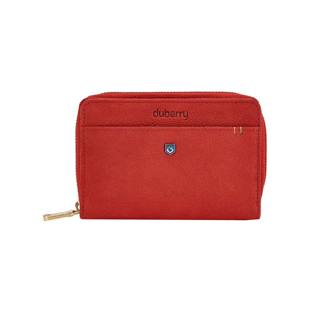 Portrush Leather Wallet - Poppy