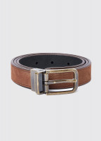 Foynes Leather Belt - Walnut