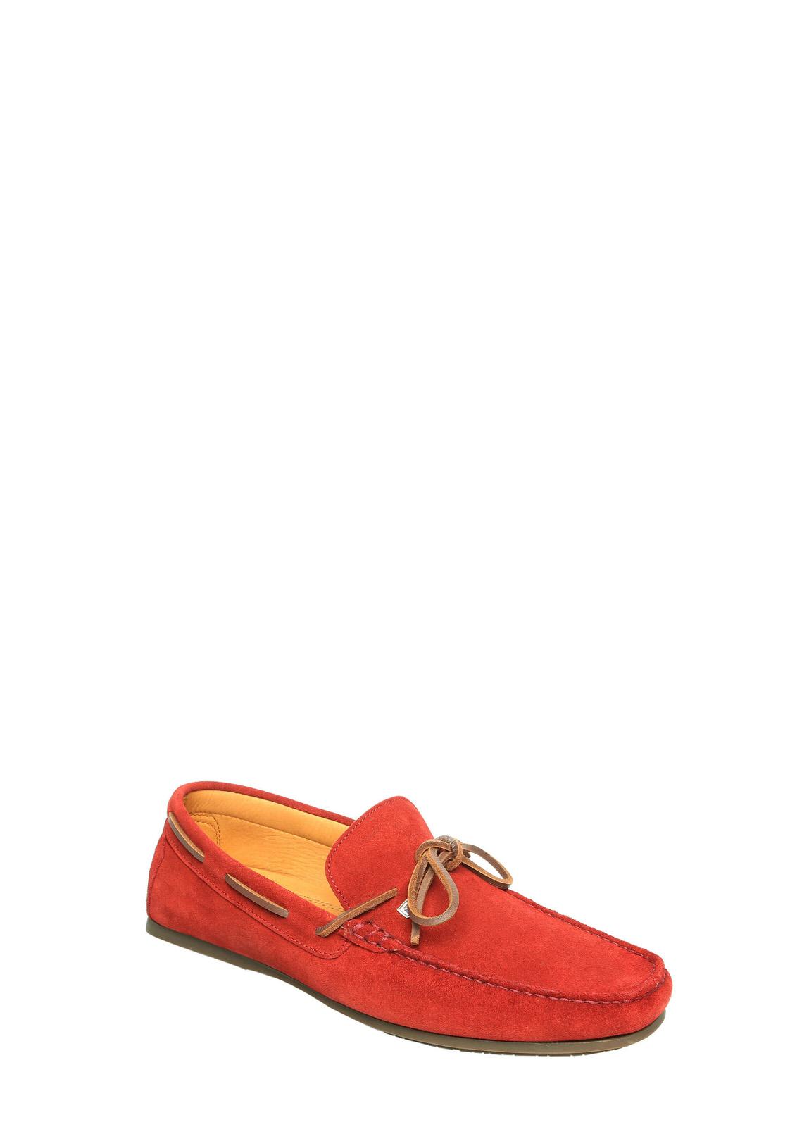 Corsica Mens Deck Shoe - Red