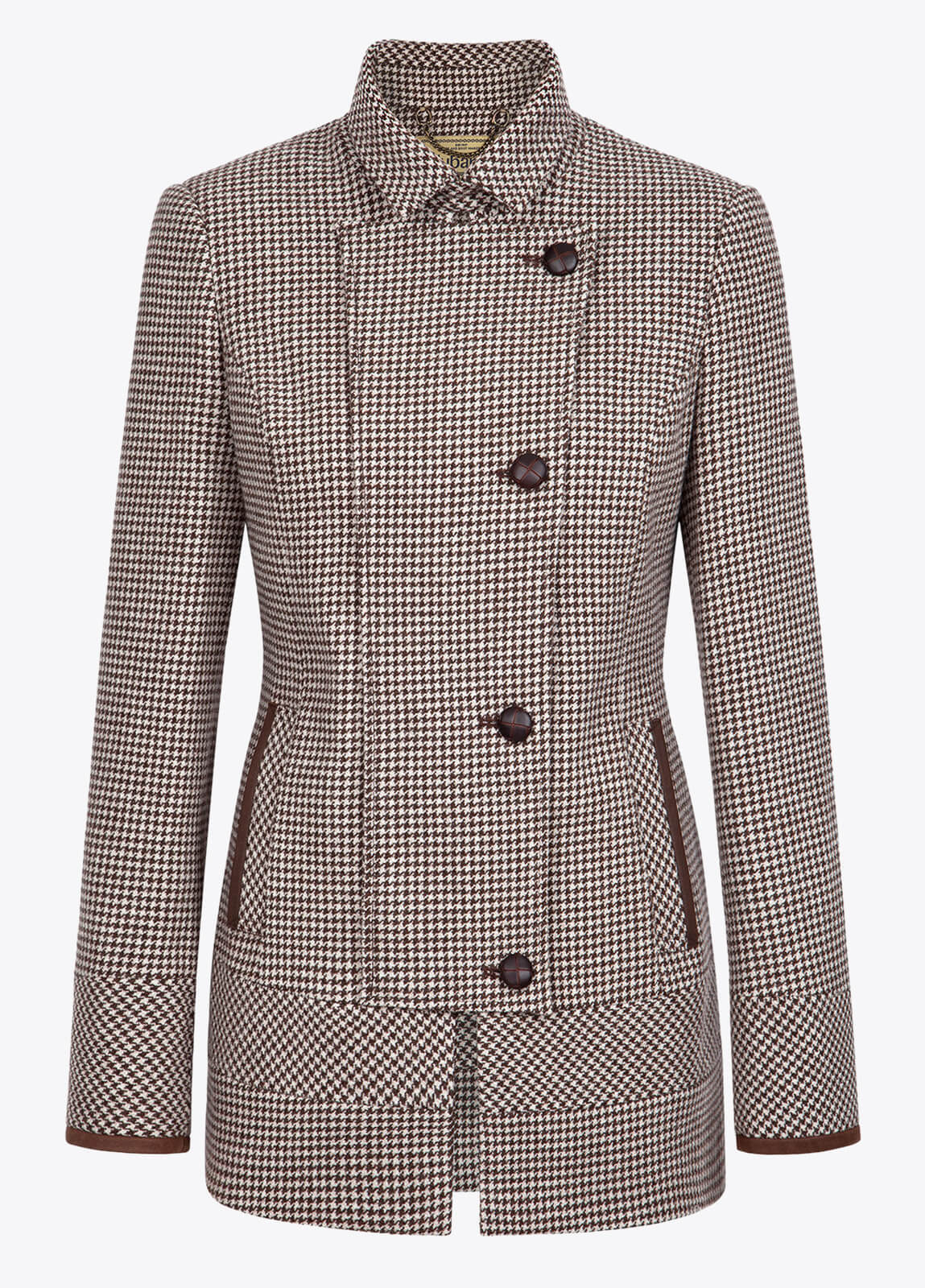Willow Tweed Jacket - Cafe
