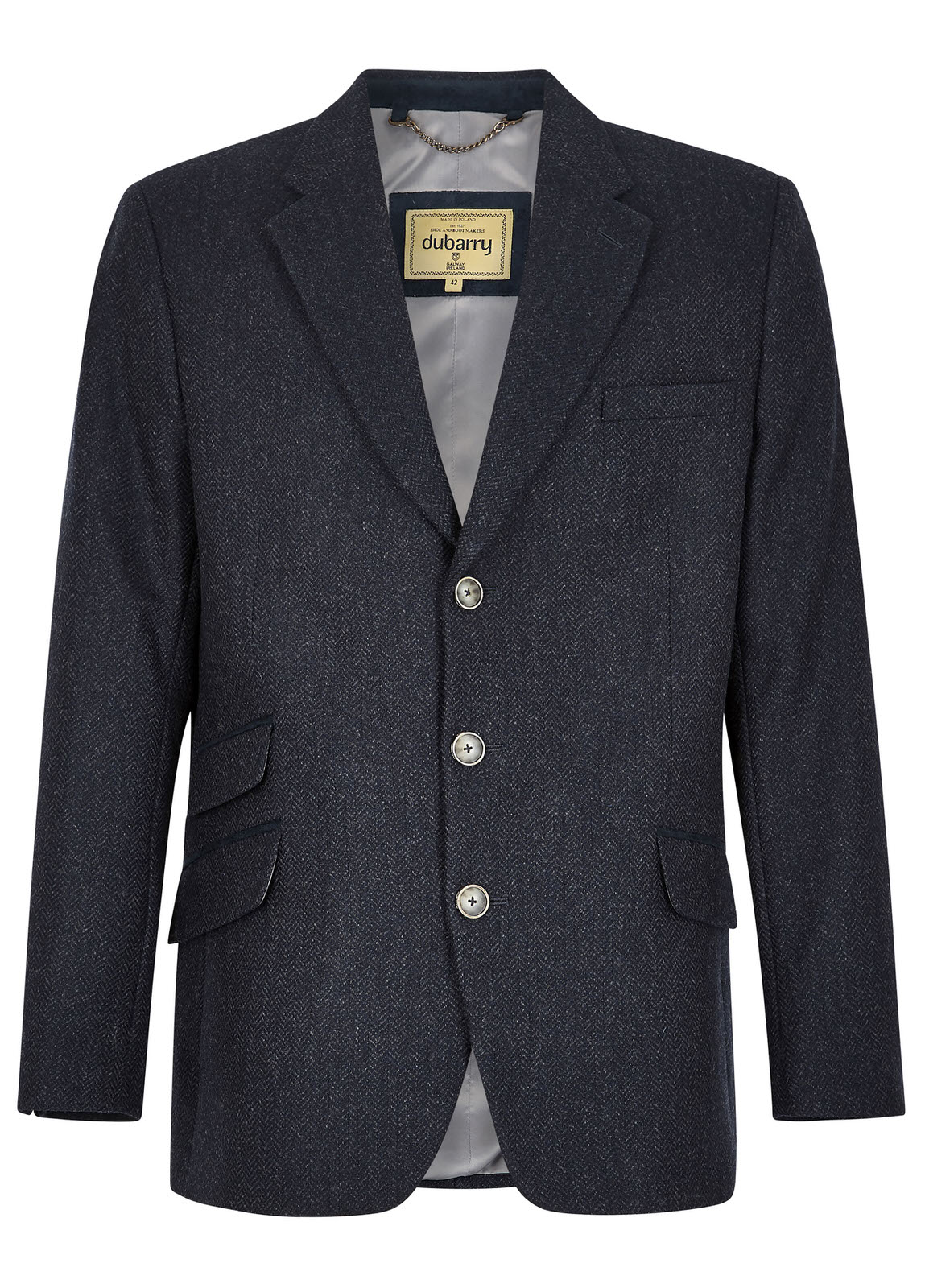 Rockingham_Tweed_Jacket_Navy/Bordo_Image_1