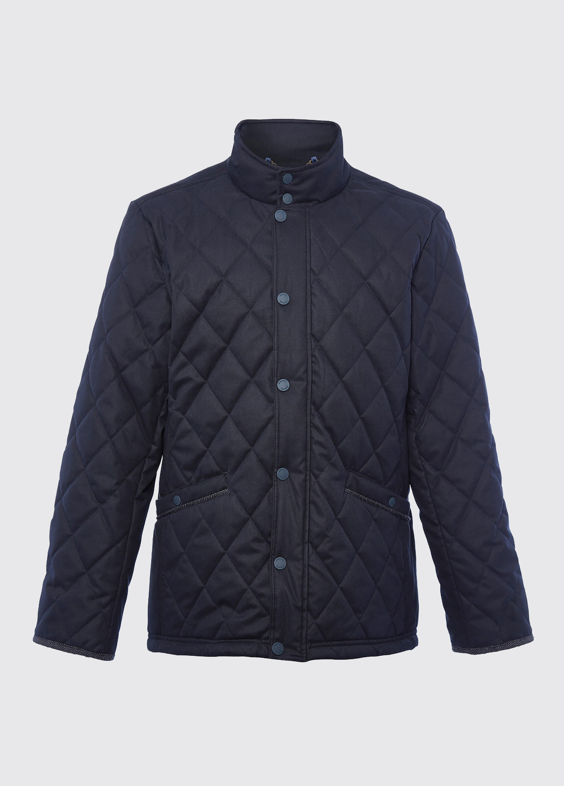 Bantry Quilted Jacket - Navy